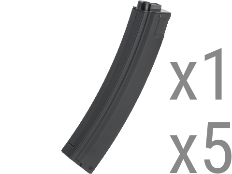 CYMA Metal 100rd Mid-Cap Mag for MP5 / Mod5 Series Airsoft AEG (Package: Single Magazine)