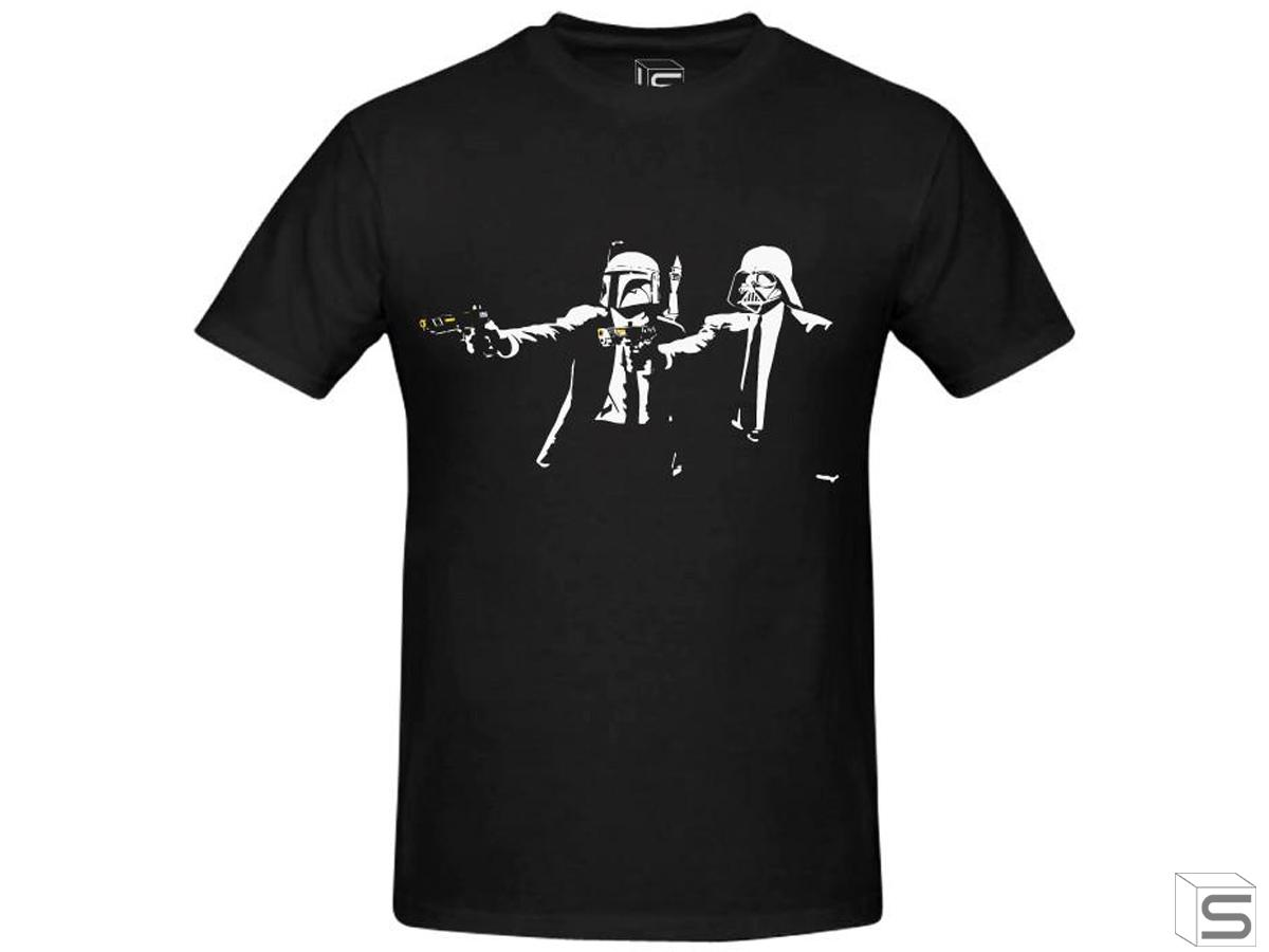 Salient Arms Pulp Fiction Screen Printed Cotton T-Shirt (Size: Womens Small)