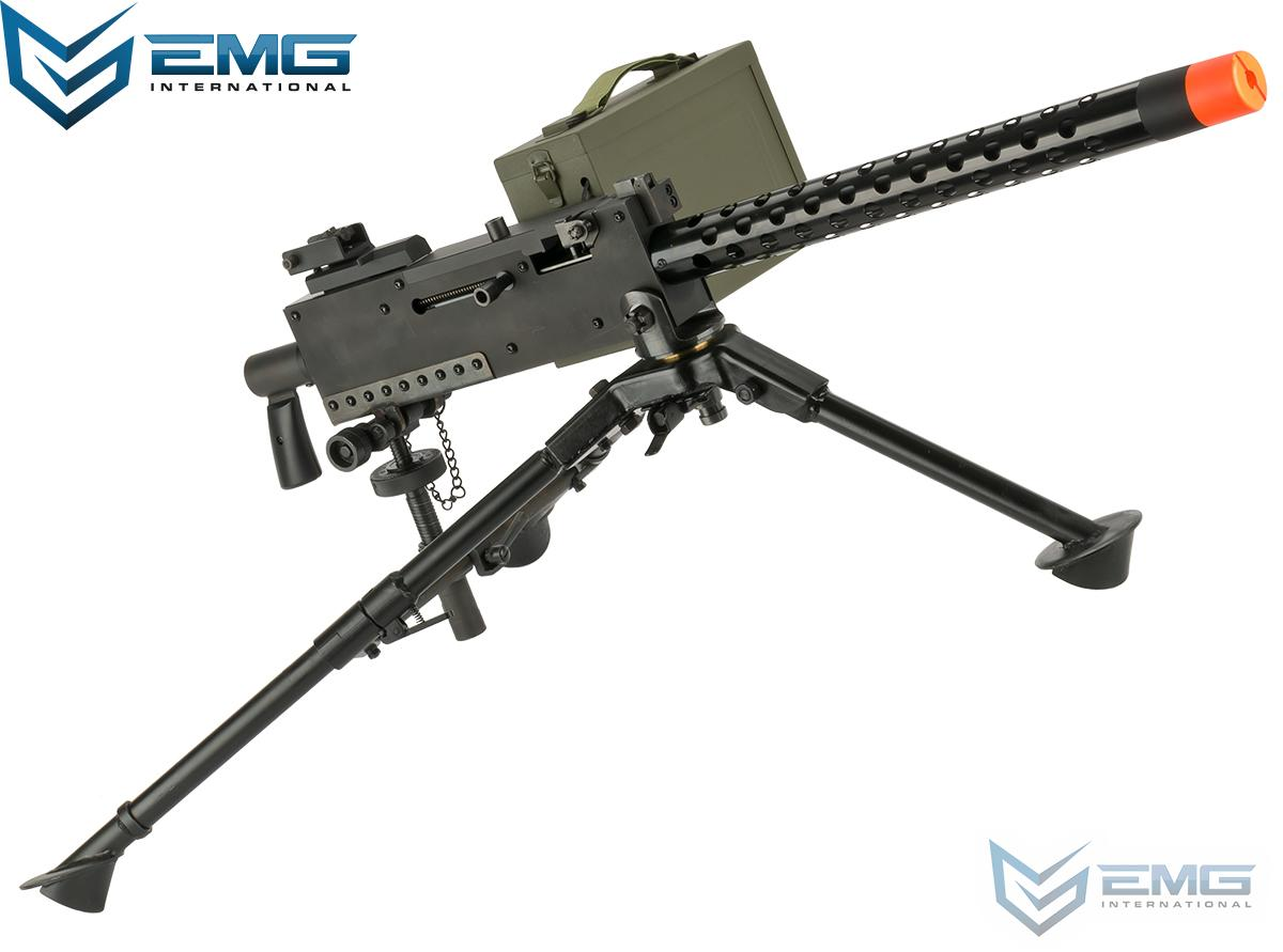 EMG M1919 Gen 2 Automatic Squad Support Airsoft AEG (Package: Gun, Tripod and Pintle Mount)