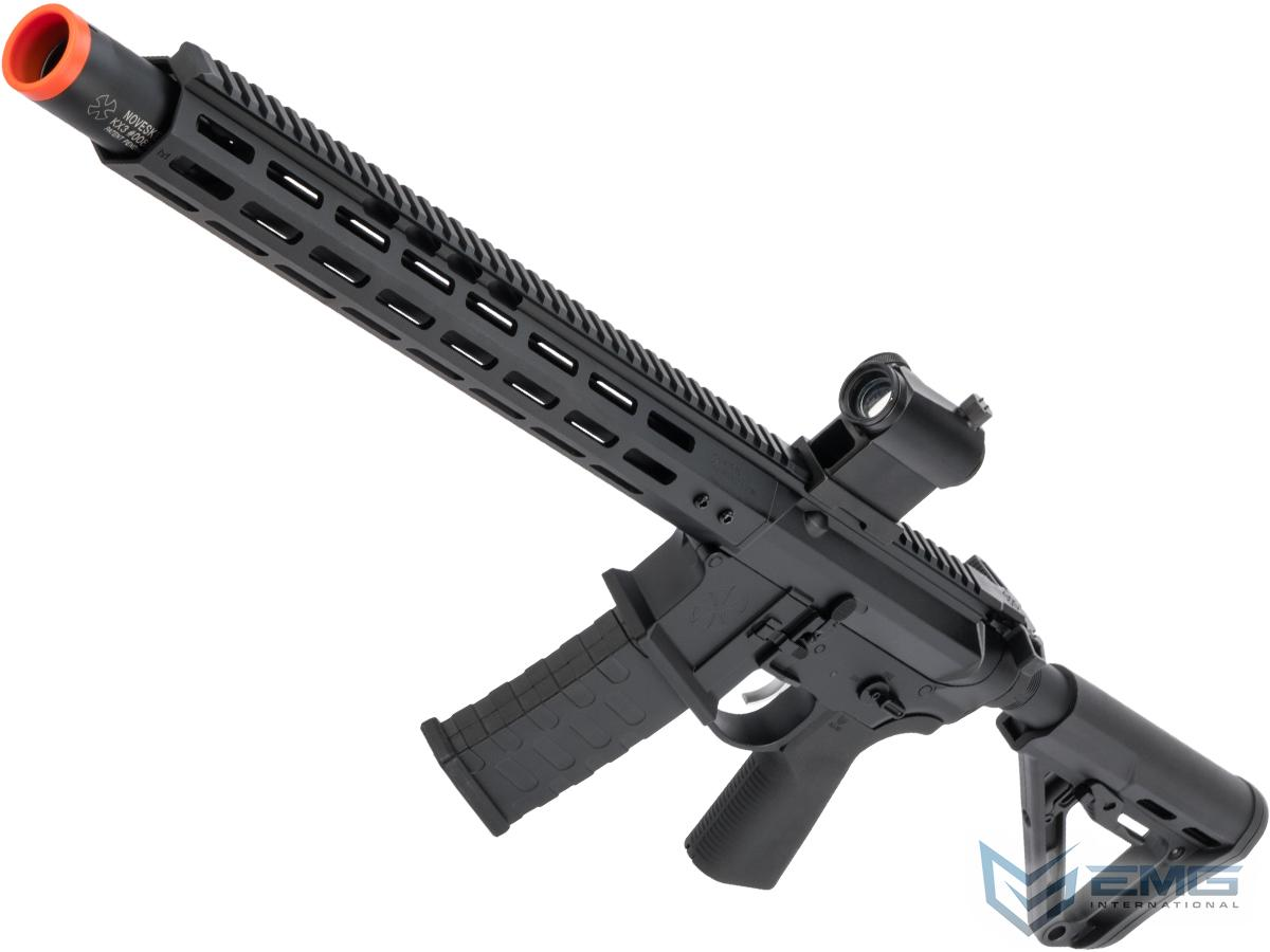 EMG NOVESKE Gen 4 w/ eSilverEdge SDU2.0 Gearbox Airsoft AEG Training Rifle (Model: Infidel / Black)