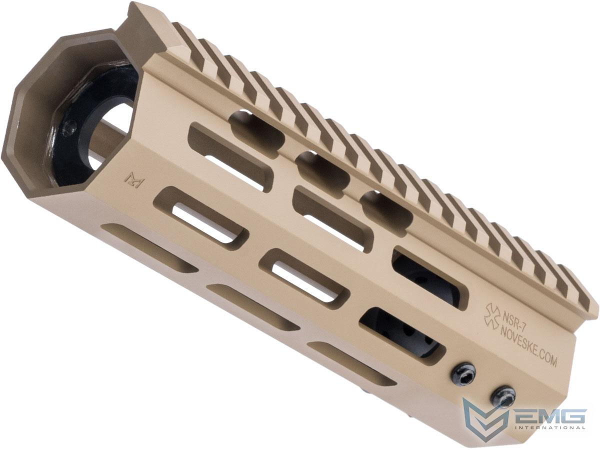 EMG Noveske Gen 4 RIS M-LOK Handguard for M4 Series Airsoft AEGs (Length: 7 / Flat Dark Earth)