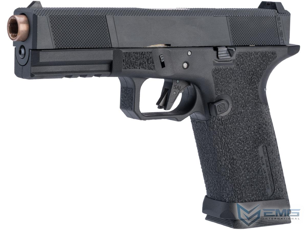 EMG SAI BLU w/ EMG Tier One Utility RMR-Cut Slide GBB Airsoft Pistol (Color: Rose Gold / Standard)