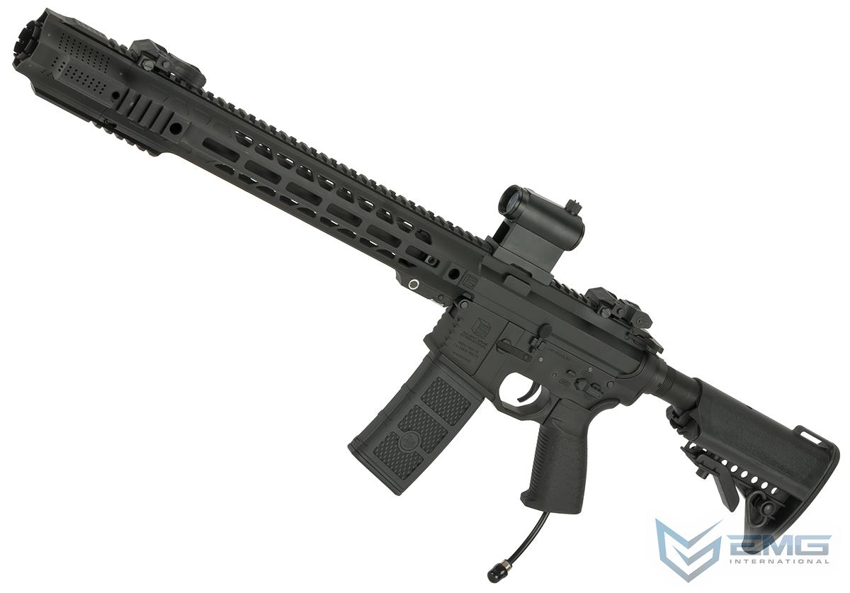 EMG / SAI Licensed AR-15 GRY HPA Training Rifle w/ JailBrake Muzzle (Configuration: Carbine / Black / PolarStar F-1)