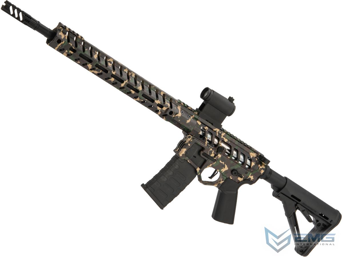 Demolition Ranch UDR-15 AR15 Airsoft AEG Training Rifle by EMG / F-1 Firearms 400 FPS (Model: Magpul CTR Stock)