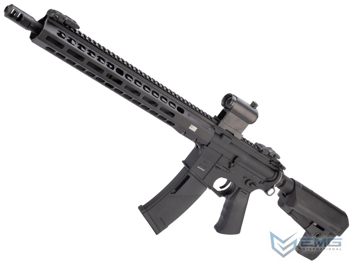 EMG / KRYTAC / BARRETT Firearms REC7 DI AR15 AEG Training Rifle (Length: Carbine / Black)