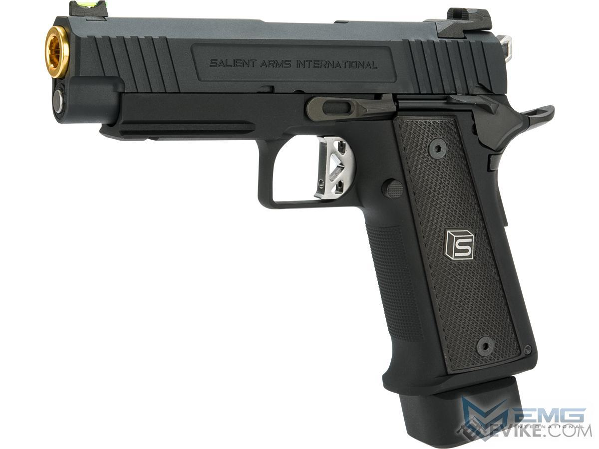 EMG / Salient Arms International 2011 DS 4.3 Airsoft Training Weapon (Color: Black / Green Gas)