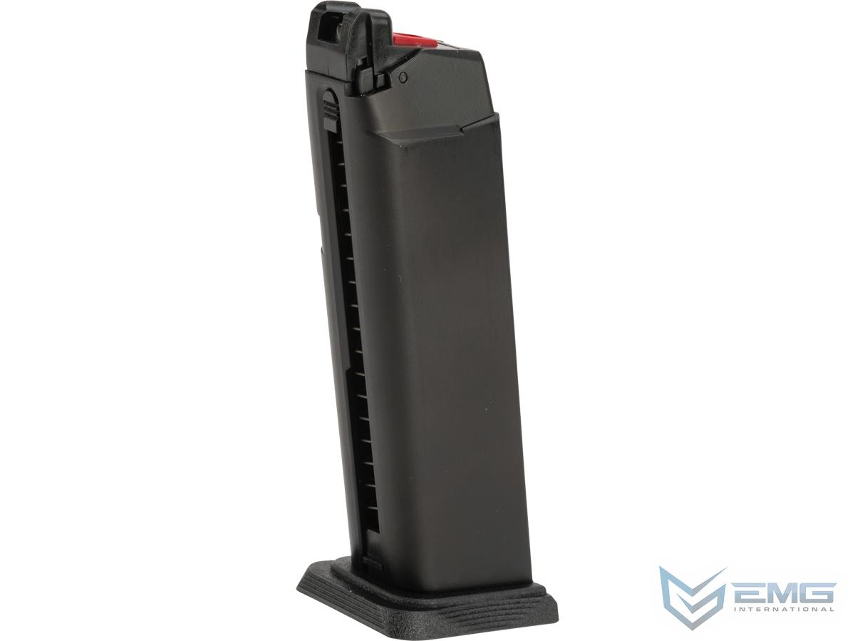 EMG Magazine for BLU & GLOCK Series Gas Airsoft Pistols (Model: Enhanced / Green Gas / 25rds)