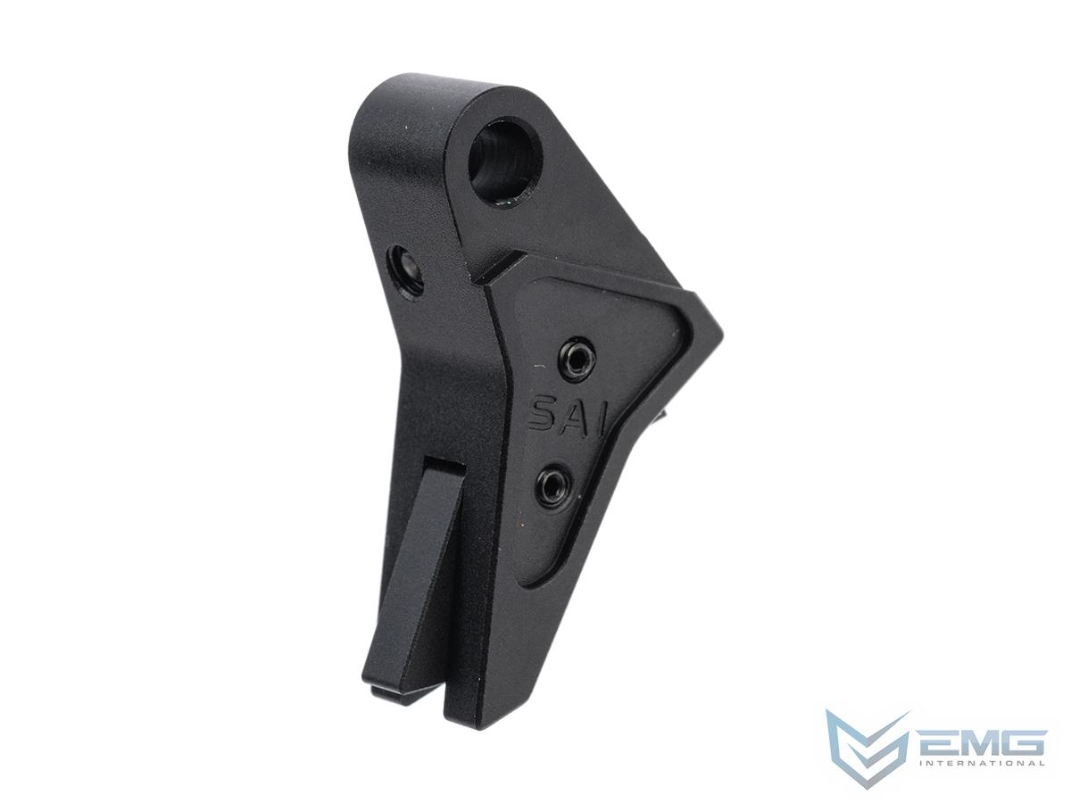 EMG SAI Tier One Flat Trigger for Airsoft GBB Pistols (Type: Elite Force GLOCK)