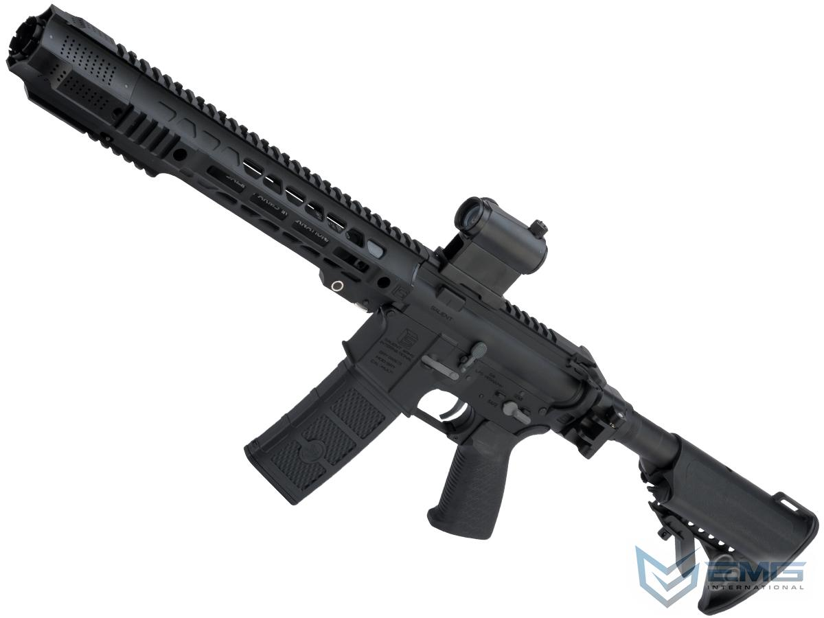 EMG SAI GRY Gen. 2 Forge Style Receiver AEG Training Rifle w/ JailBrake Muzzle and Folding Stock (Model: i5 Gearbox / SBR / Black)