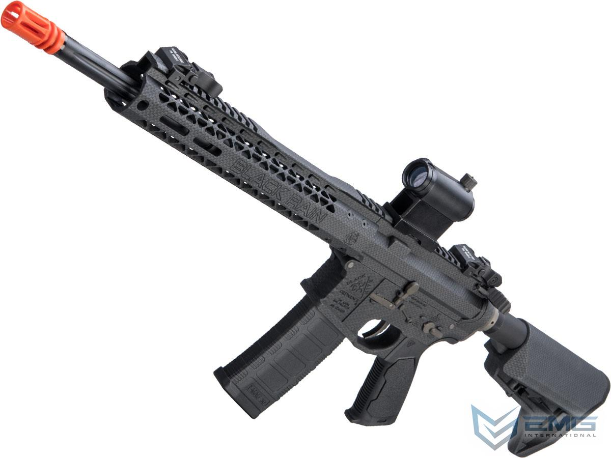 EMG Black Rain Ordnance BRO SPEC15 Licensed AR-15 Airsoft AEG Rifle w/ M-LOK Handguard (Color: Carbon Fiber / Carbine)