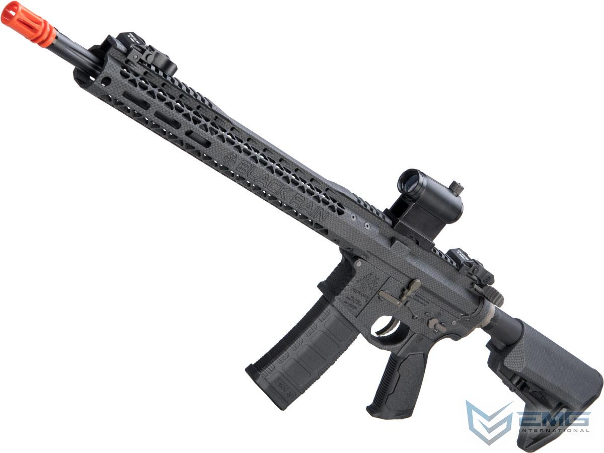 EMG Black Rain Ordnance BRO SPEC15 Licensed AR-15 Airsoft AEG Rifle w/ M-LOK Handguard (Color: Carbon Fiber / Rifle)