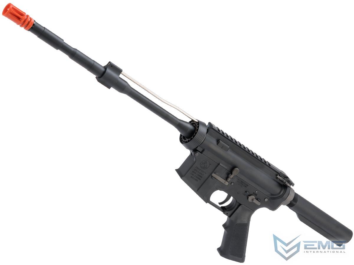 EMG Colt Licensed Stripped M4 Builders AEG Rifle (Color: Black / 400FPS)