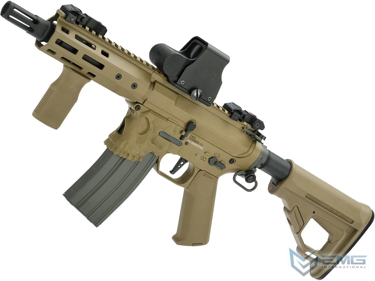 EMG / Sharps Bros Jack Licensed Full Metal Advanced M4 Airsoft AEG Rifle (Color: Tan / 7 SBR)