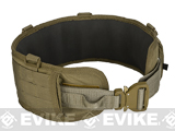 HSGI SureGrip Padded Military Belt (Color: Coyote Brown / 35.5)