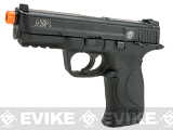 Smith and Wesson M&P 9 CO2 Blowback Airsoft Pistol with Metal Slide by Cybergun