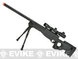 Shadow Op Master Sniper Type 96 Airsoft Sniper Rifle with Scope and Bipod By Double Eagle (Color: Black)