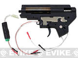 JG / CYMA 8mm Reinforced Gearbox for M4 M16 Series Airsoft AEG w/ MOSFET - Front Wired