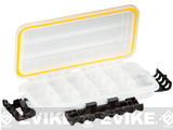 Plano Waterproof Stowaway® Clear Storage Utility 3500 Size Divided Box - 3 to 18 Compartment