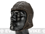 Rothco Vintage Series WWII Fighter Pilot's Leather Helmet - XL/XXL
