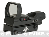 Evike Panorama Red / Green Dot (Type: Warfare Reticle / Black)