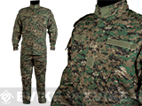 Matrix USMC Style Digital Woodland Battle Uniform Set (Size: XX-Large)