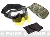 z Revision Special Edition Desert Locust Goggles Deluxe (two spare lens) - Black