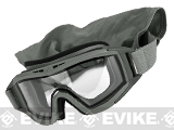 Revision Desert Locust Extreme Weather Basic Goggles - Foliage Green (Clear)