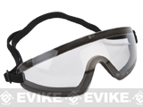 Revision Exoshield Extreme Low-Profile Goggles - Black w/ Clear Lens