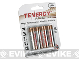 Tenergy High Quality Alkaline Batteries (Type: High Performance AA / 4 Pack)