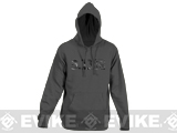 z 5.11 Tactical Camo Logo Hoodie - Grey Blue (Size: Medium)