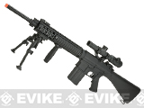 A&K Full Metal Fixed Stock SR-25 Airsoft AEG Rifle