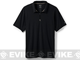 Oakley 1/4 Zip Polo - Black (X-Large)