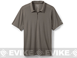 z Oakley 1/4 Zip Polo - Grigio Scurio (Medium)