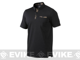 Oakley Andrews Camo Polo - Jet Black (Medium)