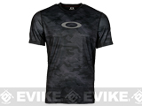 Oakley Agility Short Sleeve Training Top - Jet Black (X-Large)