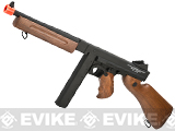 z Cybergun Licensed Thompson M1A1 Airsoft AEG Rifle (Metal Receiver / Gearbox) Package w/ Mosfet