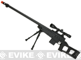 WELL 4409D Bolt Action Airsoft Sniper Rifle - Black