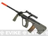 Bone Yard - ASG Licensed Steyr AUG A1 Airsoft AEG Rifle w/ Military Style Scope (Store Display, Non-Working Or Refurbished Models)
