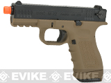 ISSC Licensed M-22 Full Metal Airsoft GBB Gas Blowback Pistol by WE (Color: Desert / CO2 Magazine)