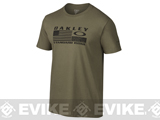 Oakley Flag T-shirt - Worn Olive / Small