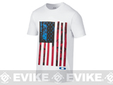 Oakley Old Glory T-Shirt - White (Medium)