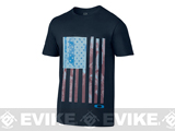 Oakley Old Glory T-Shirt - Navy Blue (Medium)