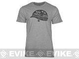 z Oakley Born To Thrill T-shirt - Heather Grey (Medium)