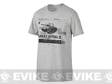 Oakley Regiment  T-Shirt - Heather Grey