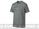 Oakley Stealth O T-Shirt - Heather Grey