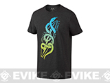 Oakley 50/50 Sea Snakes T-shirt - Jet Black Heather