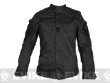 Laylax Ghost Gear Ladies Tactical BDU Jacket - Black (Size: Medium)