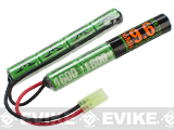 Valken Energy Butterfly Type NiMH Battery (Size: 9.6v 1600mAh)