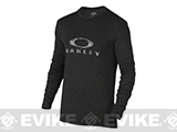 Oakley Surf Long Sleeve T-Shirt - Jet Black