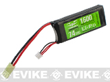 Valken Energy 7.4V 1600mAh 20C PEQ Brick Type LiPo Battery